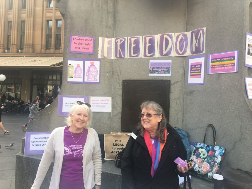 Grandmothers Against the Detention of Refugee Children